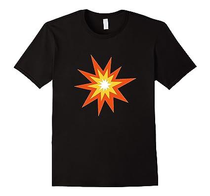 Fireworks Emoji T Shirt Collision Wham Bam Pow Punch Strike Herren