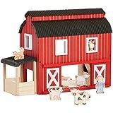 Guidecraft Big Red Barn Play House
