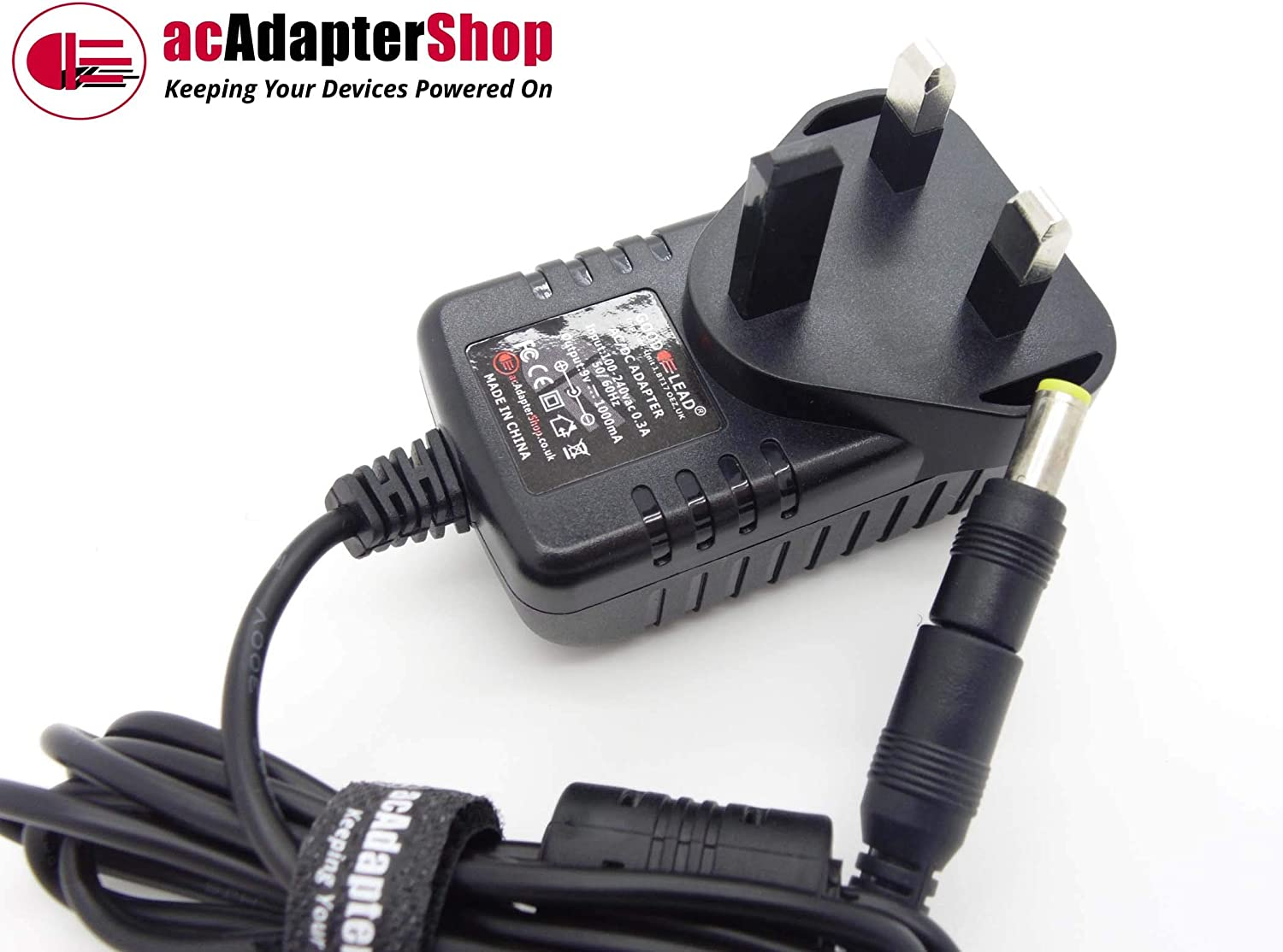 Adaptor Power Lead Charger Switch Mode Power Supply GOOD LEAD 9 Volt Mains AC//DC Adapter Which Is Compatible With INFANT INFANT 02091 Device