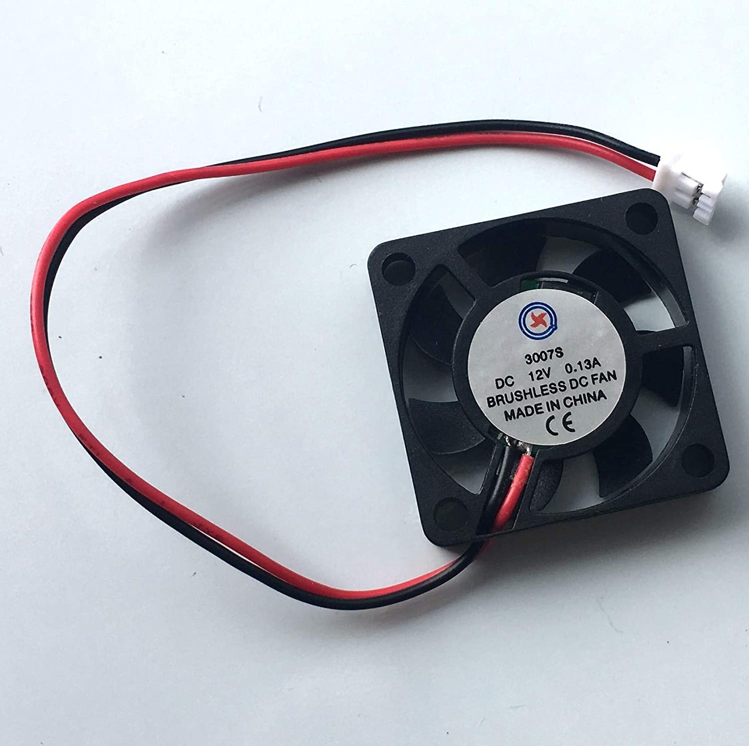 YOUKITTY 1pcs 12V 25mmx25mmx10mm Brushless DC Cooling Fan 2510s 2 Wires