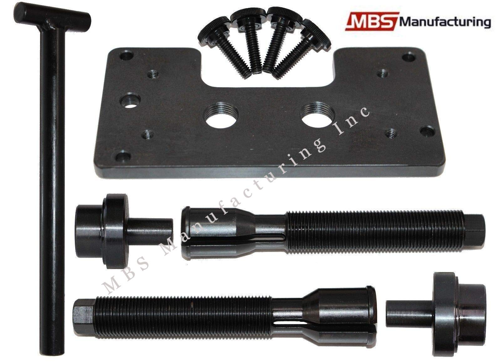 MBS Manufacturing Inc Harley Davidson TC 88 96 103 110 All Twin Cam & Dyna Inner Cam Bearing Installer & Puller