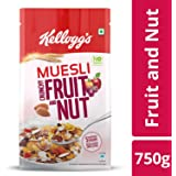 Kellogg's Muesli Crunchy Fruit and Nut, 750g
