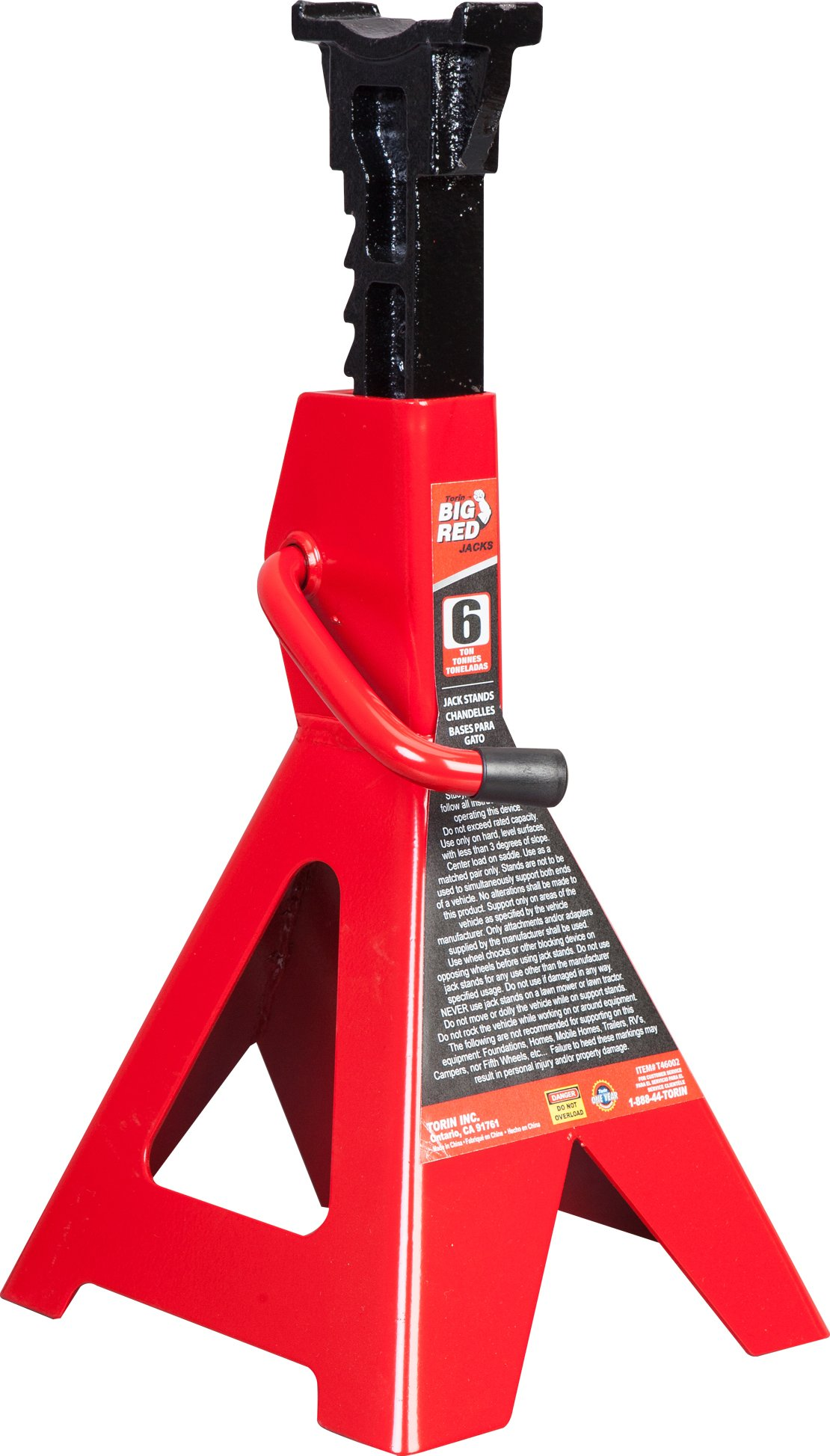 Torin Big Red Steel Jack Stand: 6 Ton Capacity, Single Jack by Torin (Image #13)