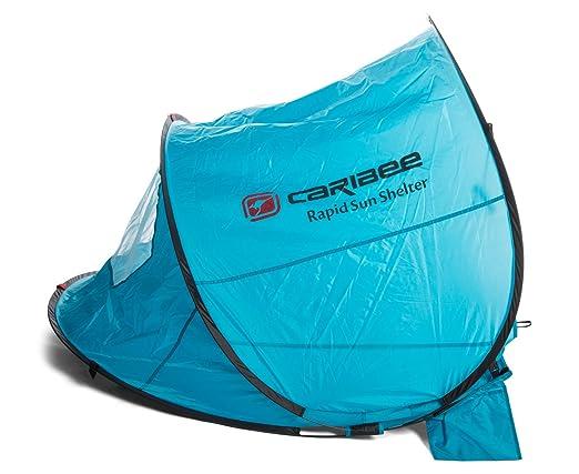 Caribee Rapid Pop Up Beach Tent Sun Shade UV Shelter (Blue) Amazon.com.au Sports Fitness u0026 Outdoors  sc 1 st  Amazon.com.au & Caribee Rapid Pop Up Beach Tent Sun Shade UV Shelter (Blue ...