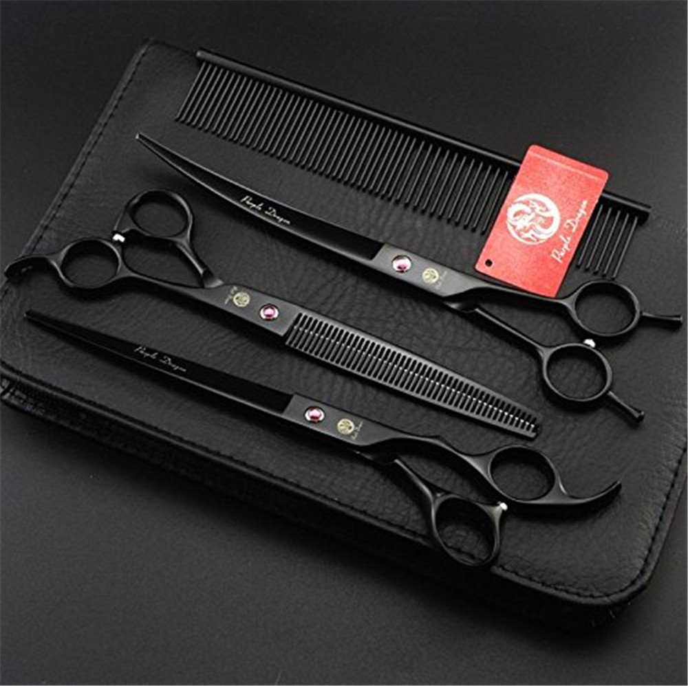 Maxshop Professional Pets Grooming Scissors,Sharp and Strong Stainless Steel Blade for Dogs Cats Hair Cutting