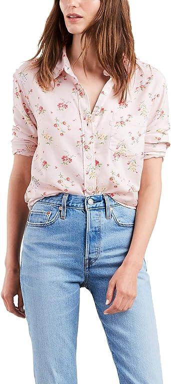 Camisa Levis Ultimate Rosa para Mujer: Amazon.es: Ropa y accesorios