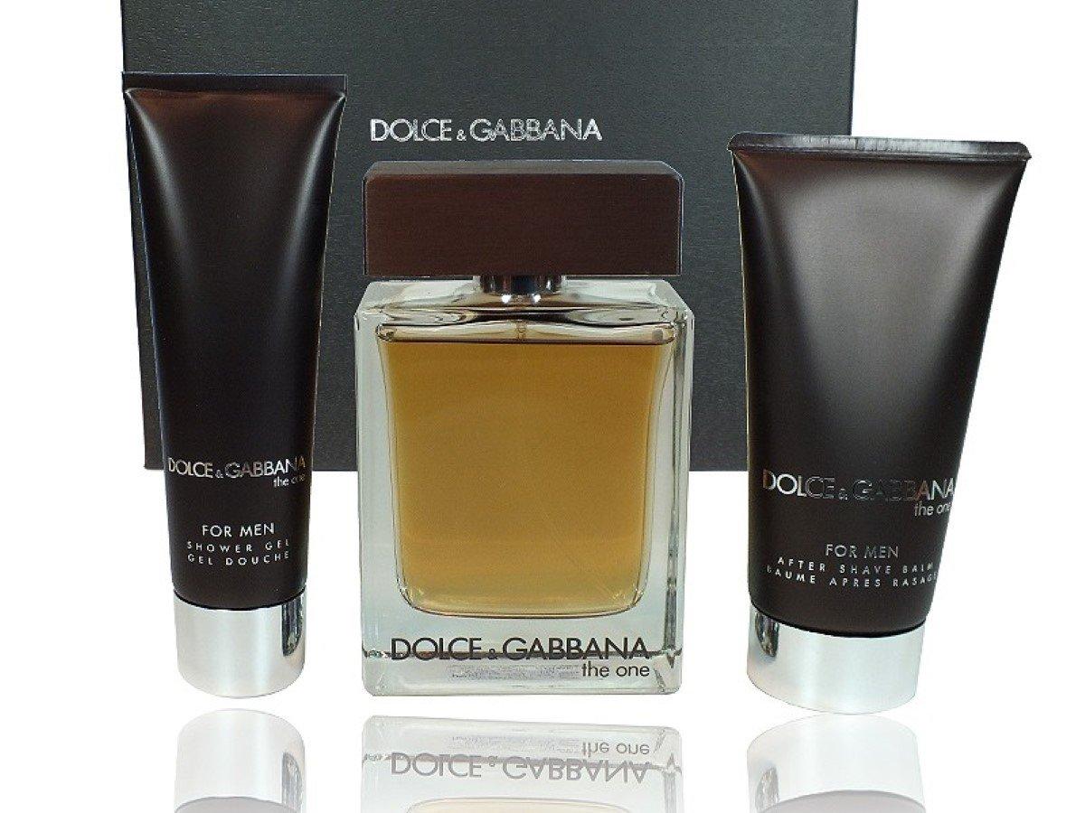 DOLCE GABBANA THE ONE MEN Eau de Toilette 100ml VAPO. + + Gel 50ml NACH SHAVE75ML DOLCE & GABBANA