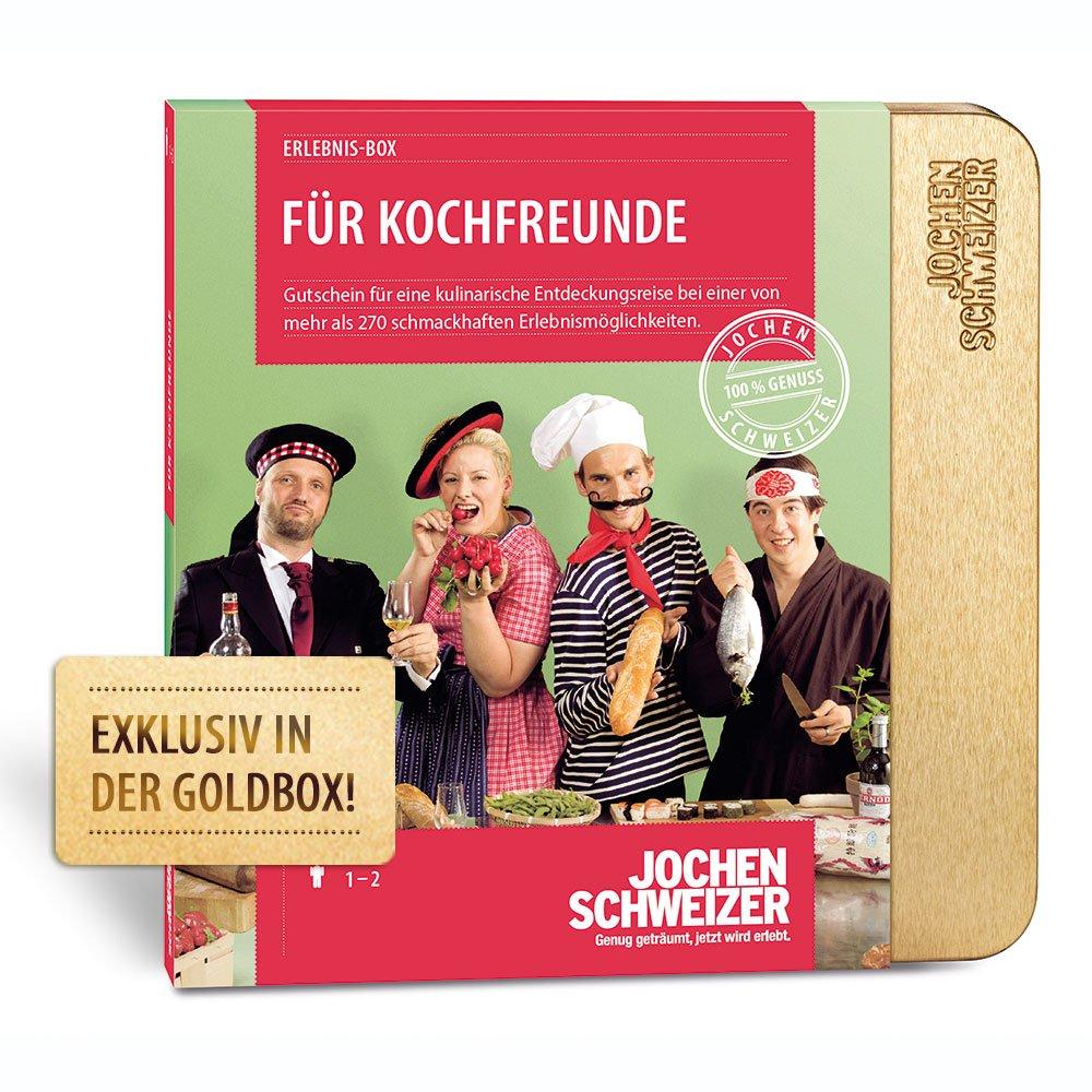 Jochen Schweizer Erlebnis-Box 'Fü r Kochfreunde'