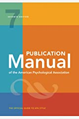 Publication Manual of the American Psychological Association: 7th Edition, 2020 Copyright Paperback