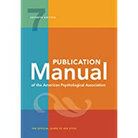 Publication Manual of the American Psychological Association: 7th Edition, 2020...
