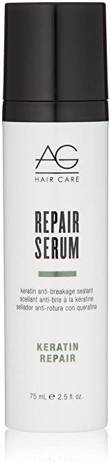 AG Hair Keratin Repair Serum Keratin Anti-Breakage Sealant, 2.5 Fl Oz