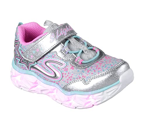 Skechers Galaxy Lights, Sneaker Bambina, Multicolore (Purple/Multicolour), 31 EU