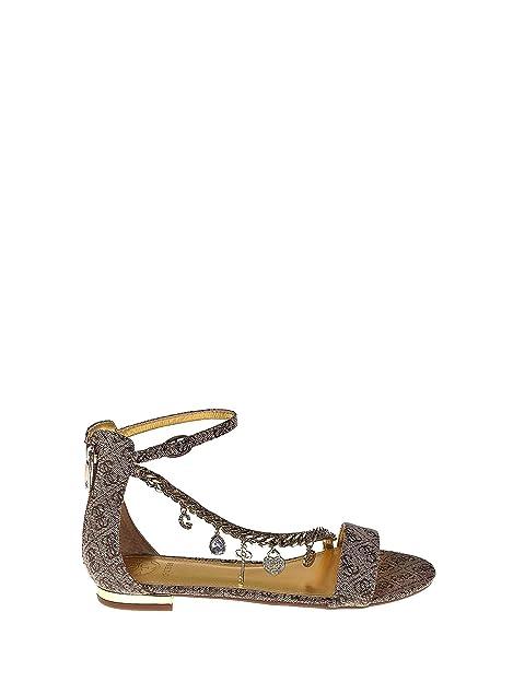 Fl6rd2 Donna Guess itScarpe Sandalo Borse Marrone E Fal03 37Amazon K31lcTFJ