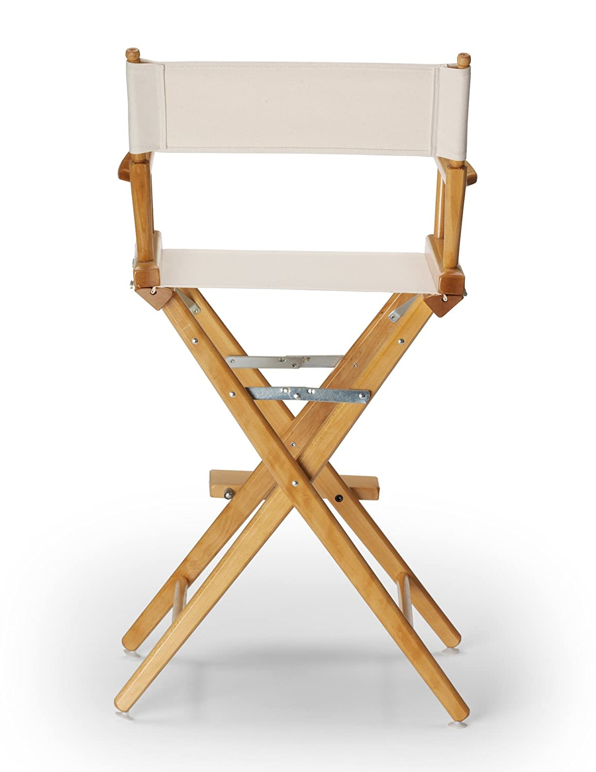 telescope casual world famous counter height directors chair. amazon.com: telescope casual world famous bar height director chair, white with frame: home improvement counter directors chair o