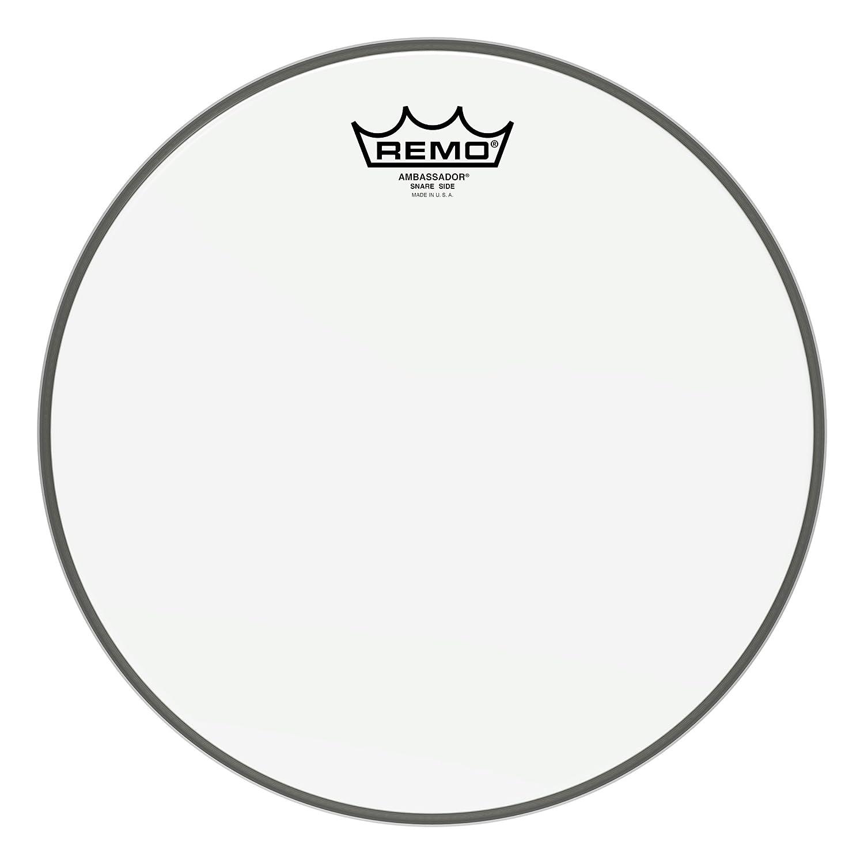 Remo SA011400 Weatherking Ambassador Hazy 14-Inch Snare Side Drumheads SA-0114-00