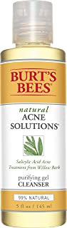 product image for Burt's Bees Natural Acne Solutions Purifying Gel Cleanser, Face Wash for Oily Skin, 5 Oz (Package May Vary)