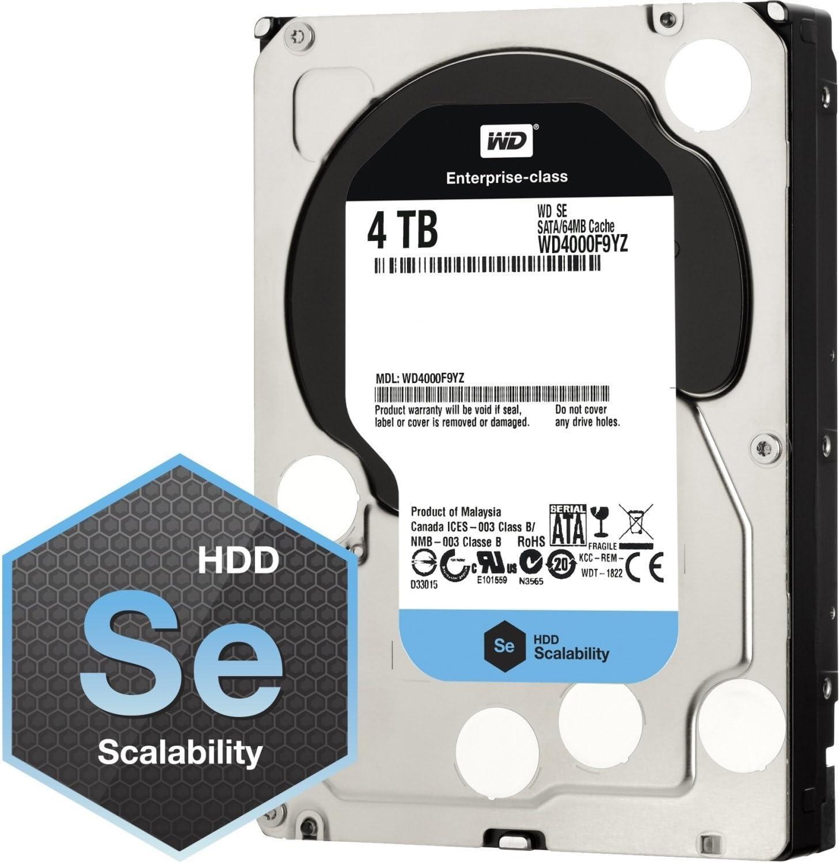 Western Digital Black WD4005FZBX 4TB 7200RPM SATA3//SATA 6.0 GB//s 256MB PC HDD