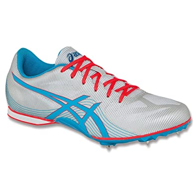 Asics Hyper rocketgirl 7 Silver Atomic Blue Track And Field Shoes