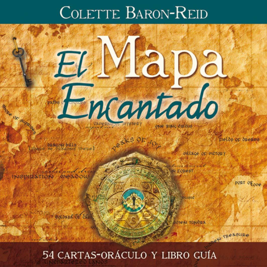El Mapa Encantado: 54 cartas-oráculo y libro guía: Amazon.es ...