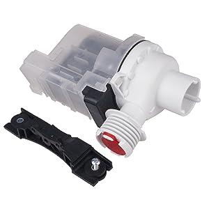 Drain Pump for Frigidaire Electrolux 134051200 137221600 137108100 Washing Machine