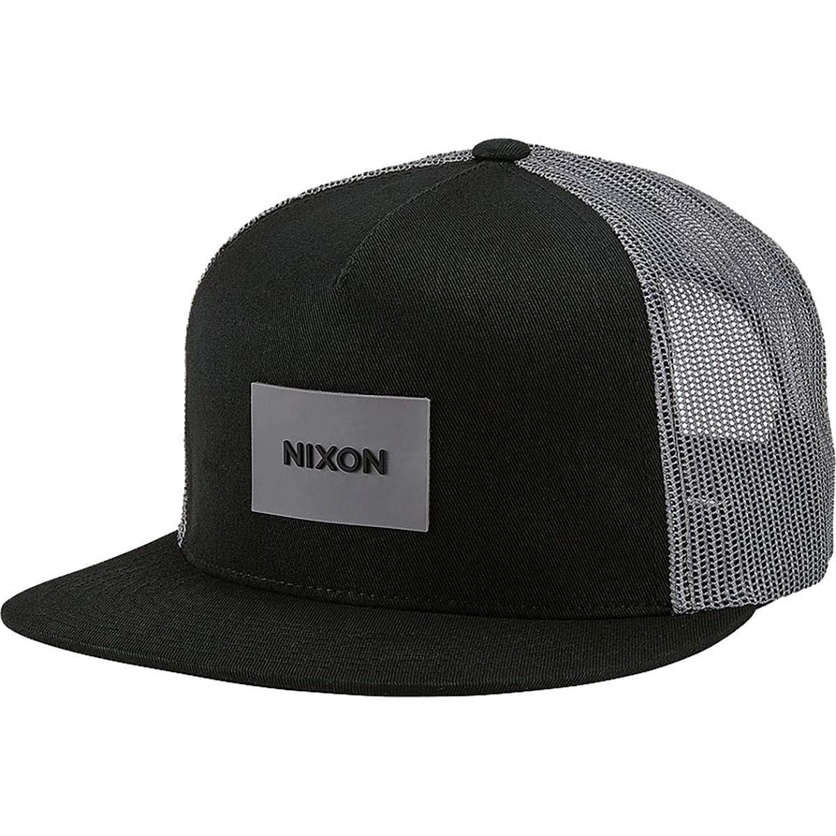 Amazon.com  NIXON Unisex Team Trucker Hat Black One Size  Clothing e3914720ae1f