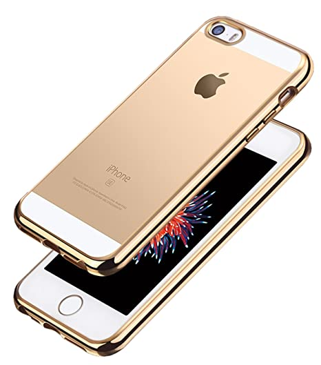 Funda iPhone SE, Aostar Ultra Fina Funda Transparente Suave ...