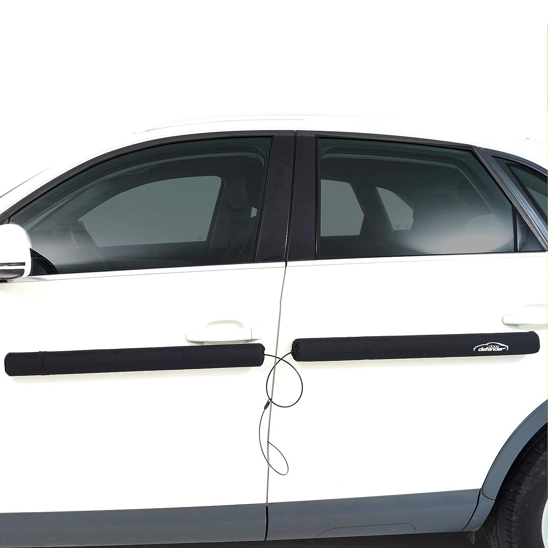 Doordefender Original in Schwarz die beim Parken entstehen Effektiver Schutz der Autot/ür vor Dellen und Beulen