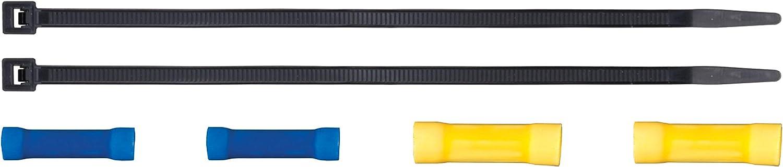 CURT Manufacturing 51516 Quick Plug Universal Electric Trailer Brake Controller Wiring Harness