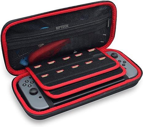 MPTECK @ Funda para Nintendo Switch Bolsa transporte Viaje rígida ...