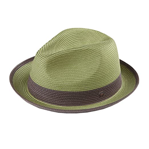 b42250b89ce Dasmarca Summer Amazon Crushable   Packable Straw Fedora Hat - Florence - S