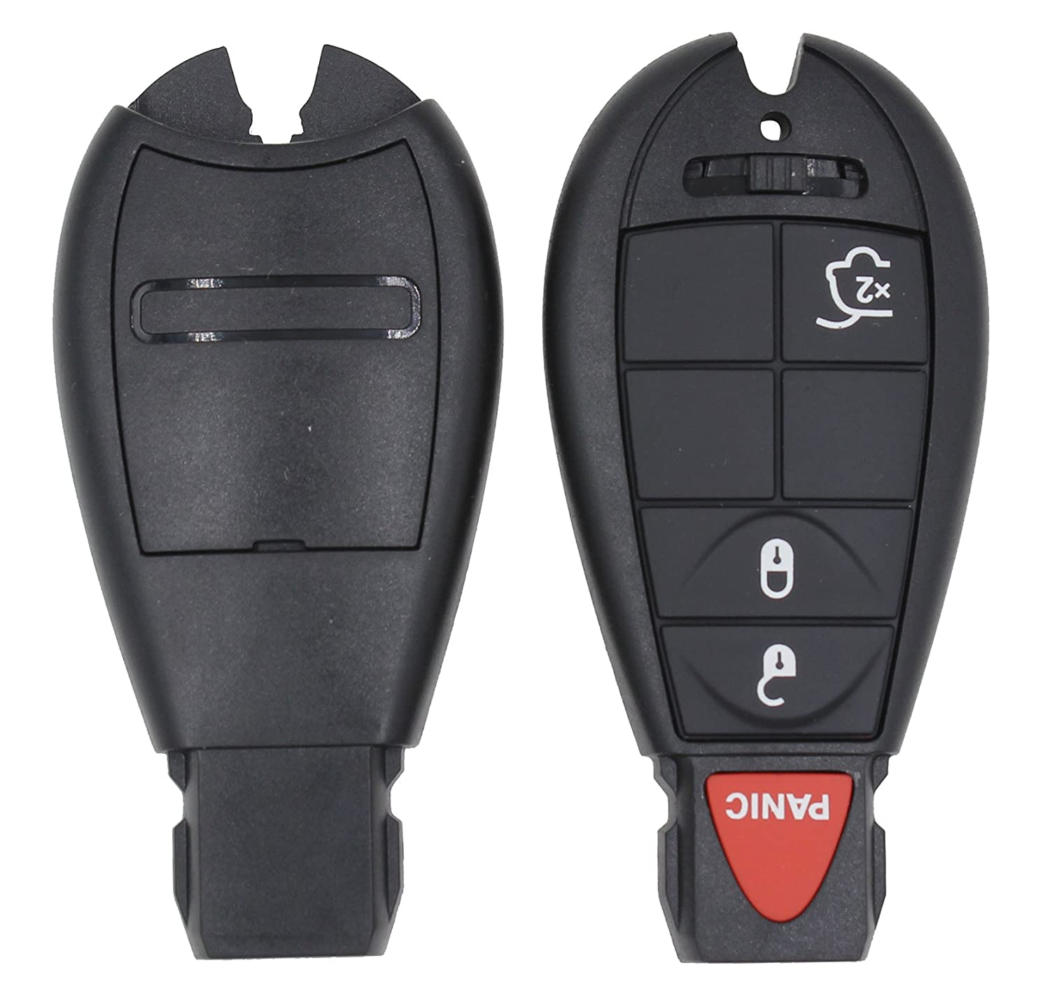 Remote Key 4 Buttons Shell Cover Smart per Chrysler Jeep Grand Cherokee Commander inserire Fob Lama di ricambio