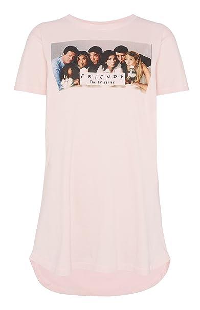 Primark - Camisón - para Mujer Rosa Rosa M: Amazon.es: Ropa ...