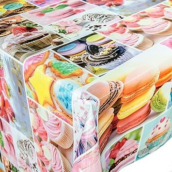 Hule mesa mantel de hule lavable dulces, toalla, carbón, 100x140cm: Amazon.es: Hogar