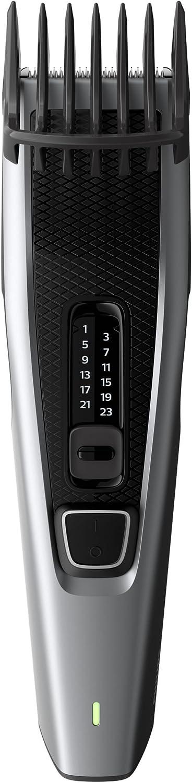 Philips Cortapelos HC3536/15 HAIRCLIPPER Series 3000 HC3536/15-Afeitadora (Negro, Gris, Rectángulo, 0,5 mm, 2,3 cm, 4,1 cm, Barba, Oído), U