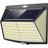 Vighep Luz Solar Exterior 228 LED,【1 Pack / 3 Modos】270 °lluminación Focos Solares…