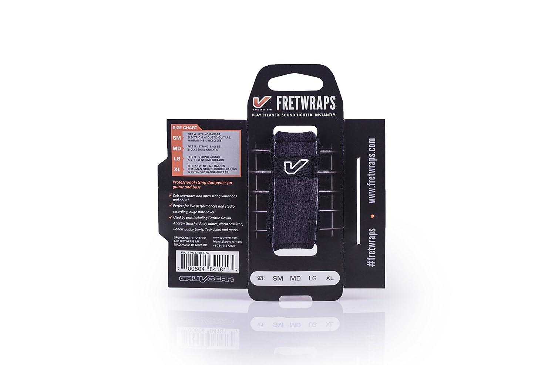 Gruv Gear FretWraps Wood Ebony String Muter 1-Pack Small