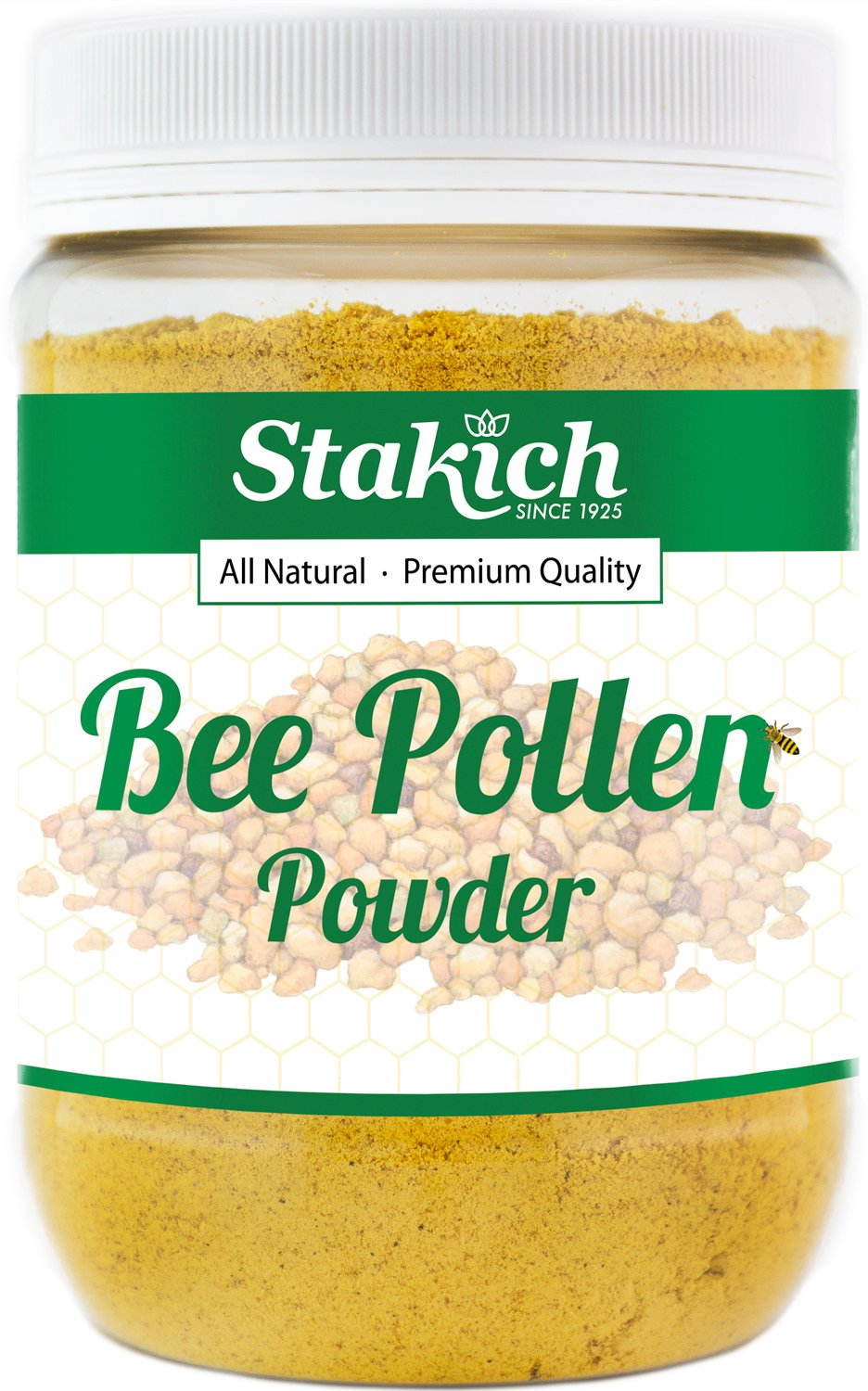 Stakich BEE POLLEN POWDER 10 lb - 100% Pure, Natural, Top Quality - by Stakich (Image #1)