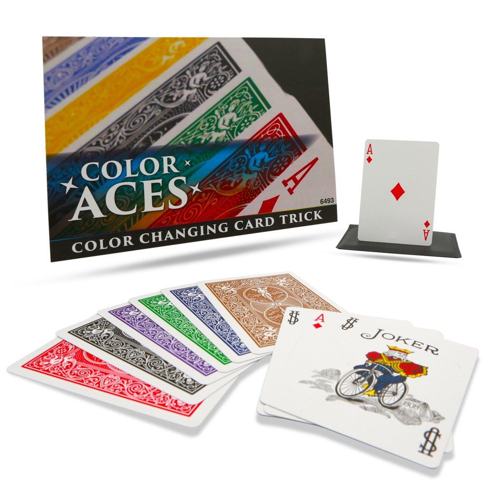 The magic coloring book trick - Magic Makers Color Aces Card Magic Trick With Magic Training