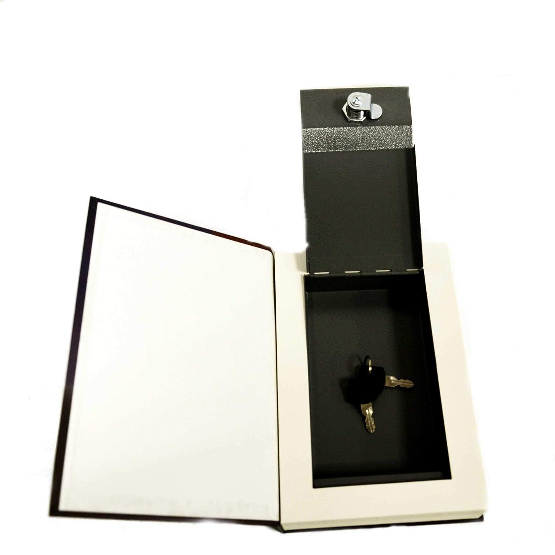 bo/îte de Rangement pour Argent Bijoux cach/és et cach/és Toys4Boys Coffre-Fort Secret pour Livres avec bo/îte de Rangement pour cl/és