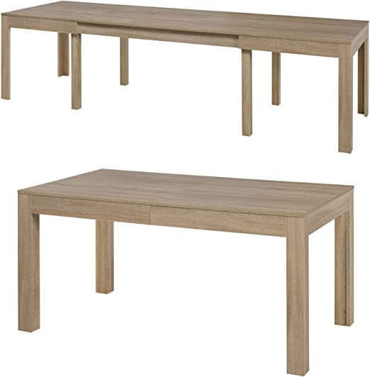 Tisch Küchentisch Esszimmertisch Esstisch Wenus Ausziehbar 300 Cm Sonoma Eiche