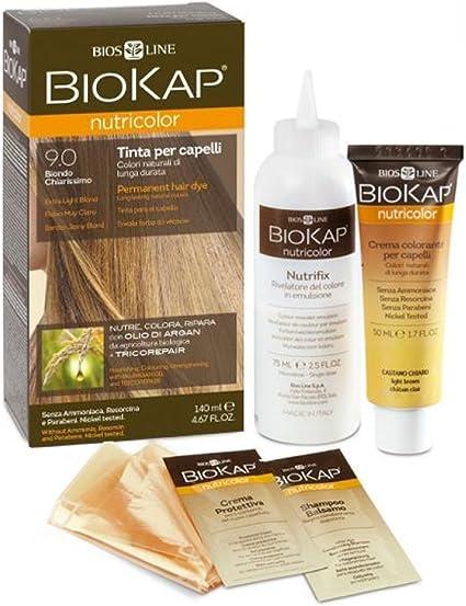 Biokap Tinte Extra Light Blond Rubio Muy Claro 9.0 140 ml
