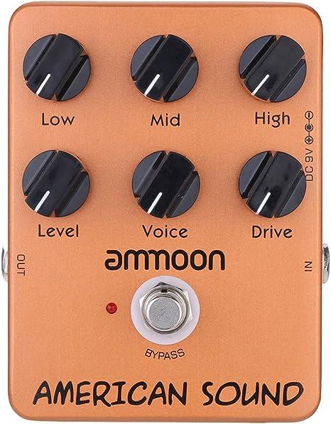 ammoon ap-13 americano sonido Simulador de Amplificador Pedal ...