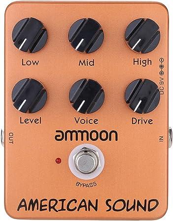 ammoon AP-13 American Sound Amp Simulator Guitarra Pedal Efecto True Bypass