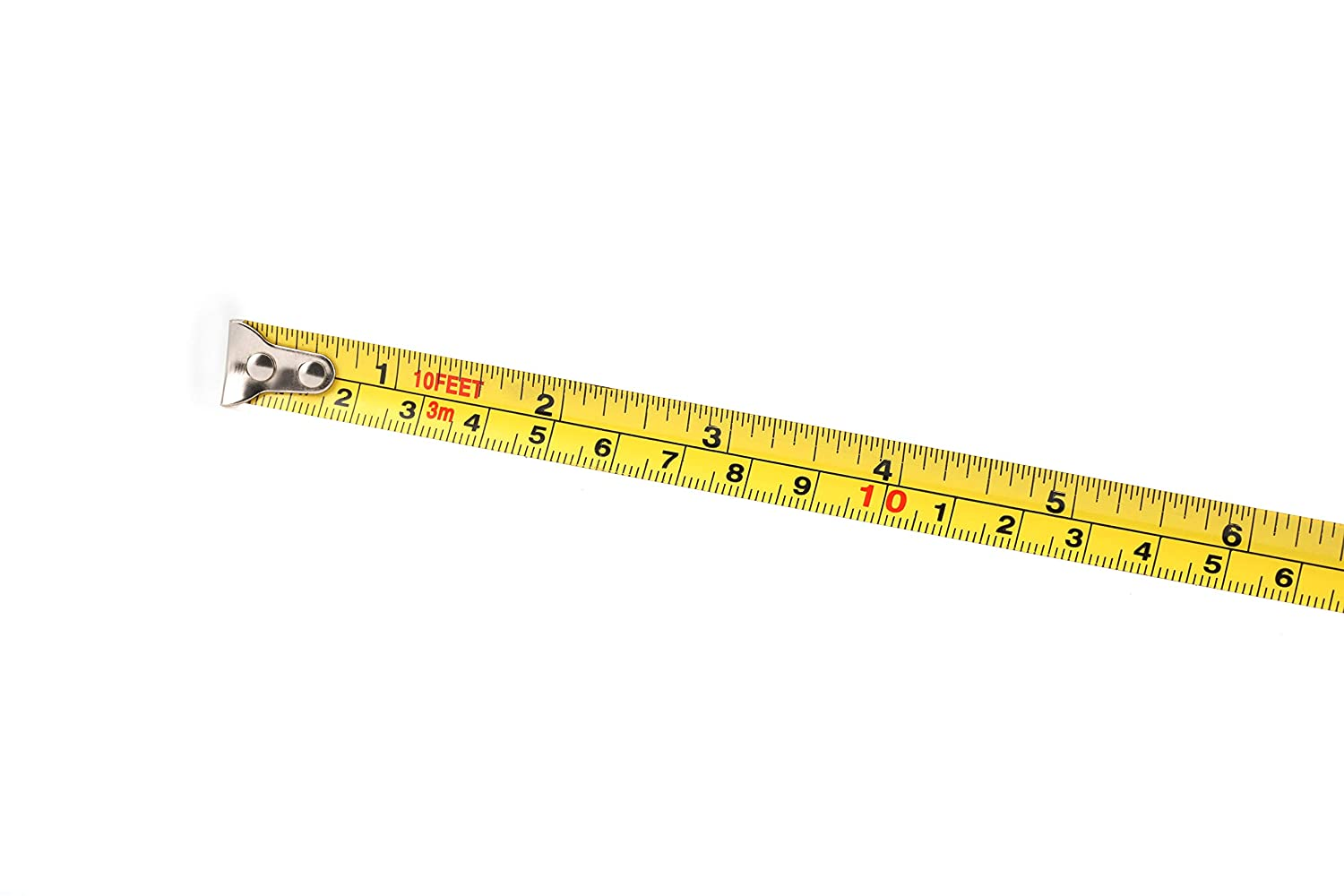 Metric and Inch Scale 3 Pack Tape Measure 10FT//3M By HEIKIO Portable Measuring Tape H17005 Sturdy Mark for Easily Reading