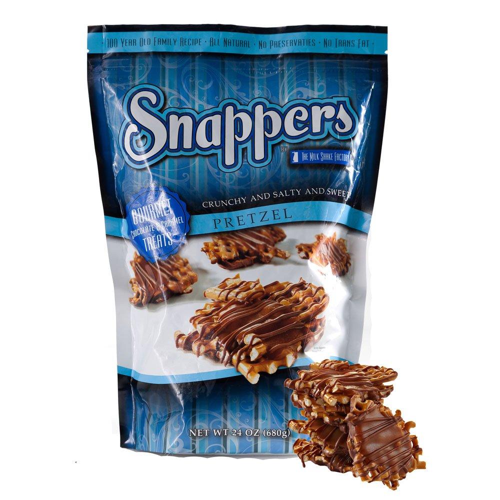Snappers Milk Chocolate & Caramel Pretzels, 680g: Amazon.co.uk ...