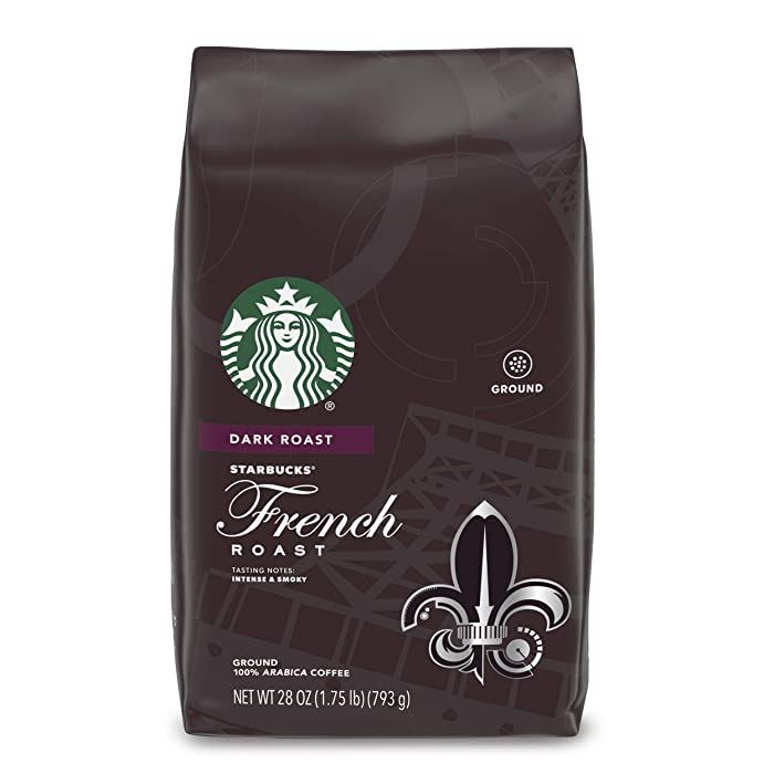 Starbucks Dark Roast Ground Coffee — French Roast — 100% Arabica — 1 bag (28 oz.)