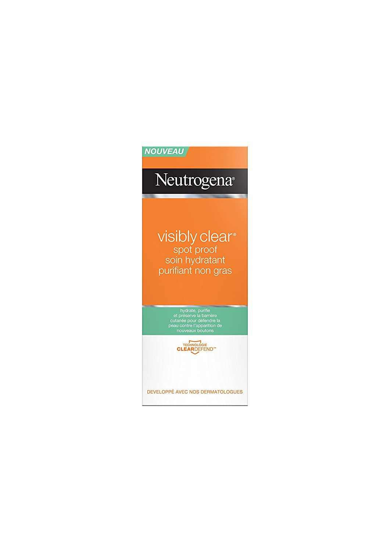 Neutrogena Vclear Spot Proof Soin Hydratant Purifiant Non Gras Tube 50 ml 90609++