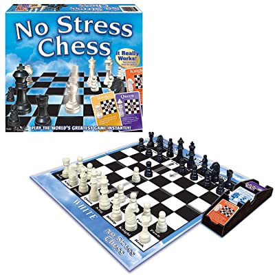 Winning Moves Games Winning Moves No Stress Chess, Natural (1091): Game: Toys & Games