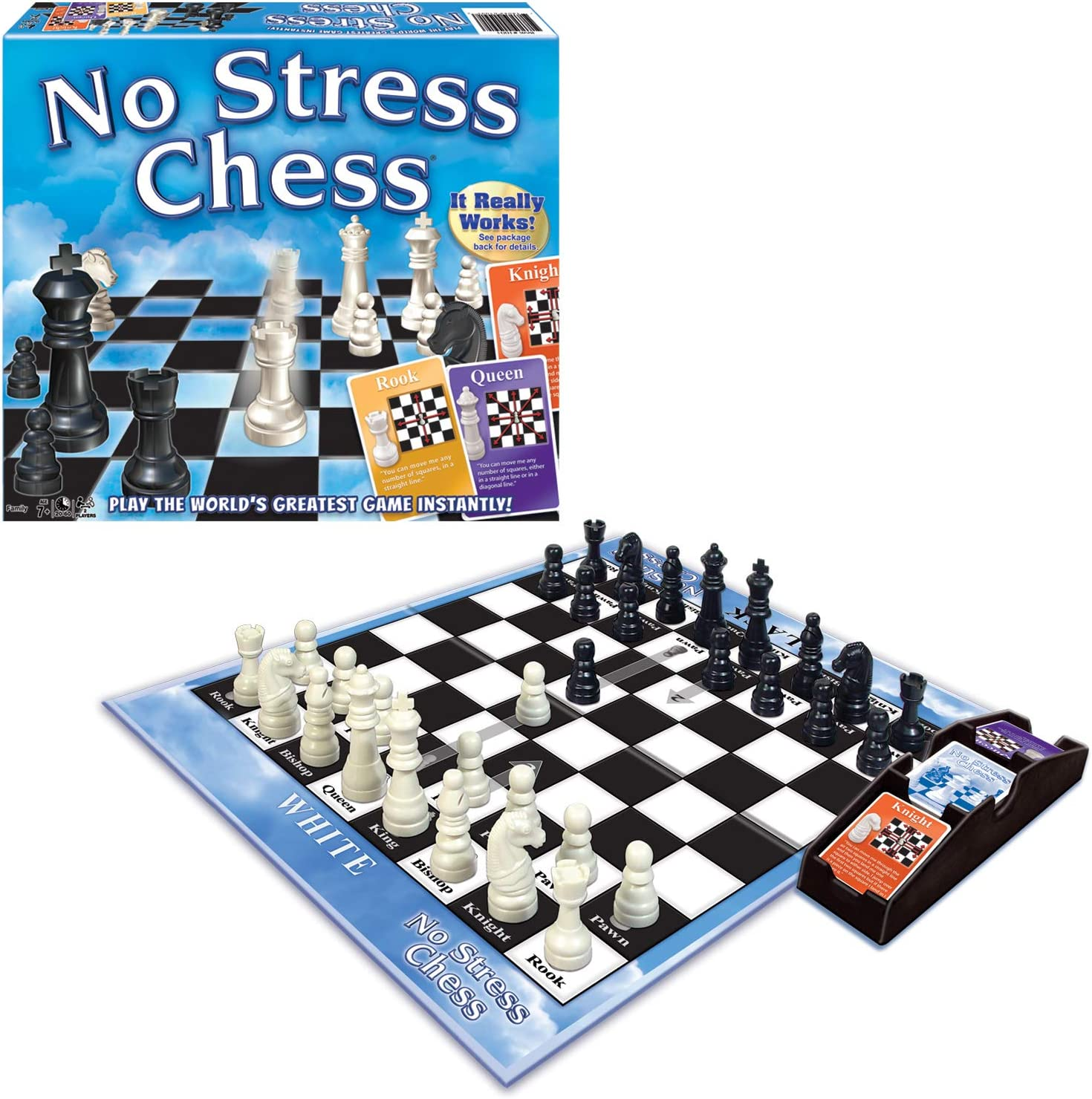 Winning Moves Games No Stress Chess Board Game $9.79 Coupon
