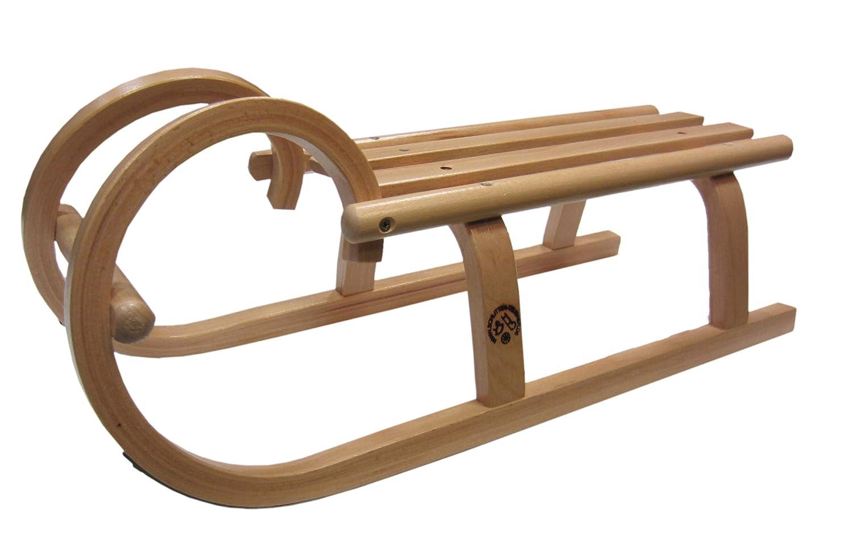 Handgemachter Hörnerschlitten 60cm lang